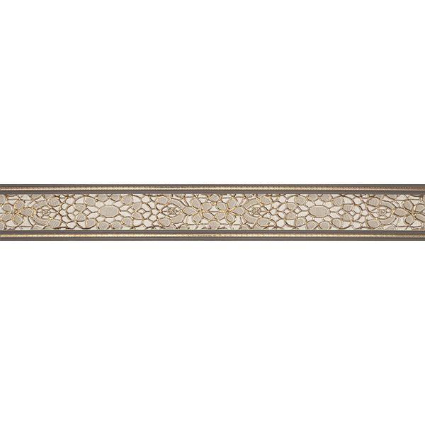 Фриз за баня Пандора марфил, 8х60см, лв/бр