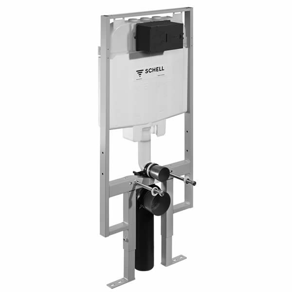 Schell Montus C90 плитка/тънка структура за вграждане за WC