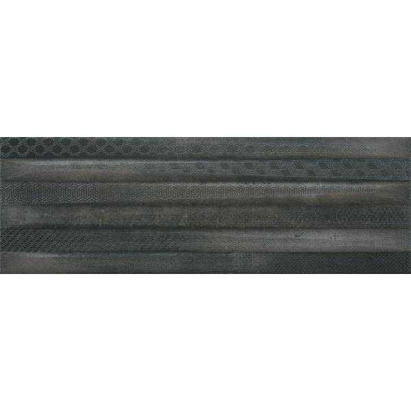 Плочки за баня Метал Арт декор 2 антрацит, 20х60см, лв/м2