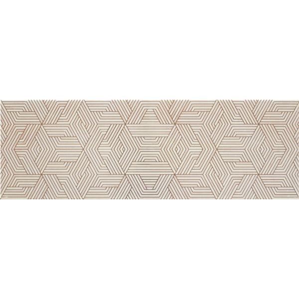 Плочки за баня Динамик 2 декор кавиор В беж, 20х60см, лв/бр