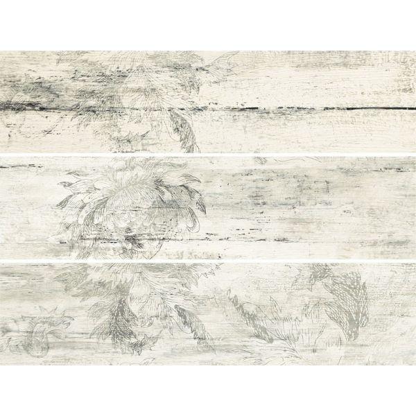 Декор Тимбър Флауър, 44,4х59,8см, к-т 3ч-ти, лв/бр