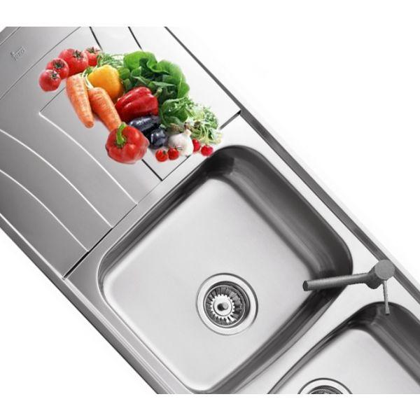Кухненска мивка Universo 116 2С 1Е, микролен