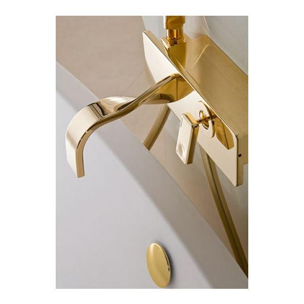 RITMONIO Nastro Gold стенен смесител вана/душ