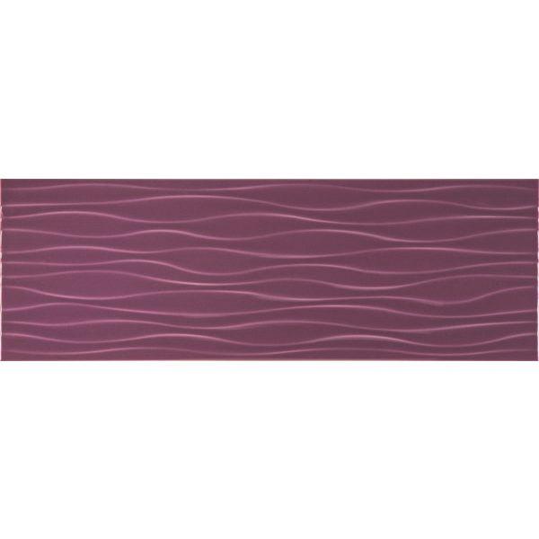 Плочки за баня Велвет виолета ондас, 25х73см, лв/м2