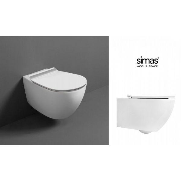 SIMAS Vignoni rimless конзолна тоалетна чиния