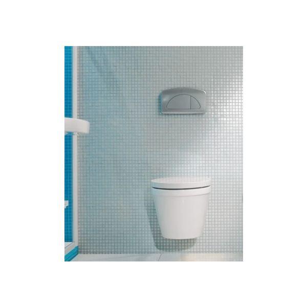SANINDUSA Reflex конзолна тоалетна чиния, седалка и капак със забавено падане